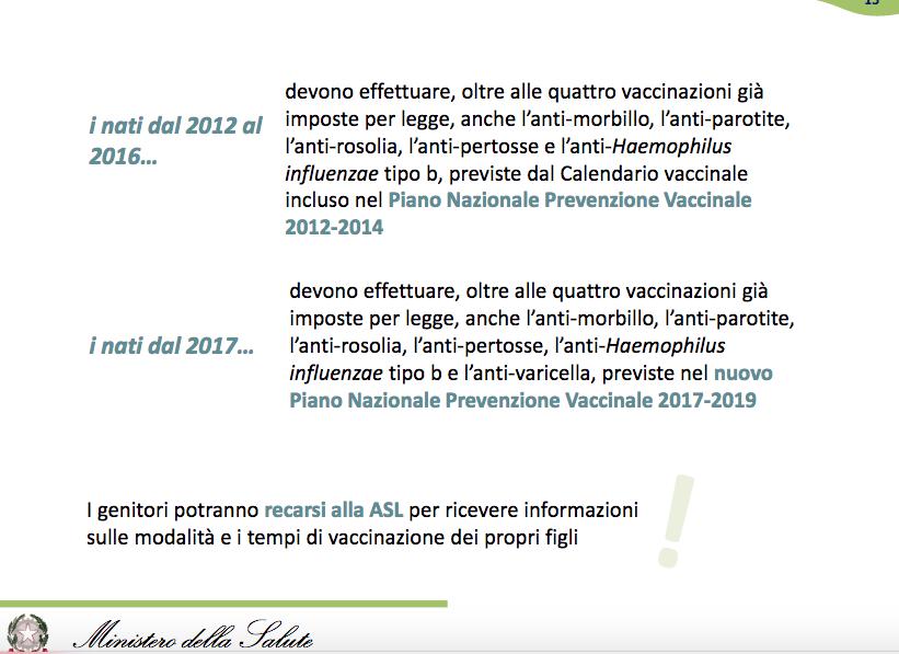 Calendario Vaccinale Obbligatorio.Vaccinazioni Obbligatorie Novita 2019 E Costi Per Le Famiglie